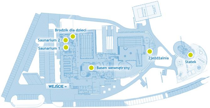 Mapa parku wodnego