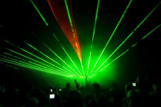 Na zakończenie Świetlna Podróż. Pokaz laserów był imponujący!