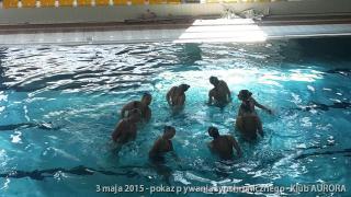Galeria 2015 - pokaz pływania synchronicznego
