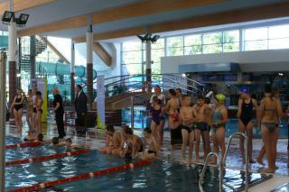 Galeria I Gminne Zawody pływackie