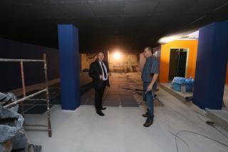 Galeria 2018 budowa strefy - Strefa aktywności na basenie coraz bliżej