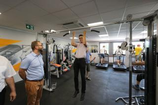Galeria 2018 budowa strefy - Za nami Dni Otwarte Strefy Aktywności Sportowej
